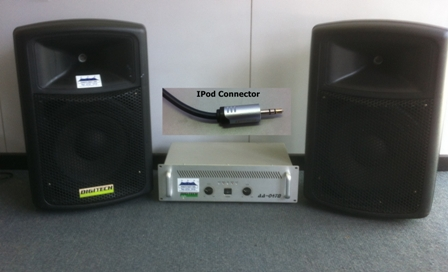Stereo system - to suit Ipod, laptop etc