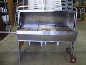 Roasting oven - s/steel, 80kg cap. Max.</