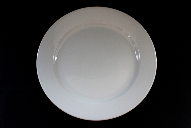 Broad-Rim Tivoli Plate - 280mm