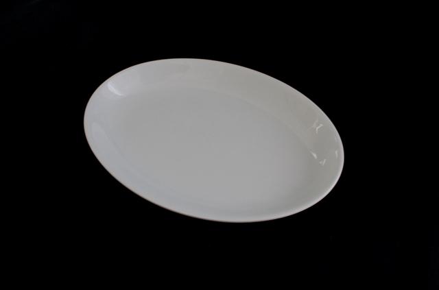 Oval Entrée plates - 205mm x 145mm
