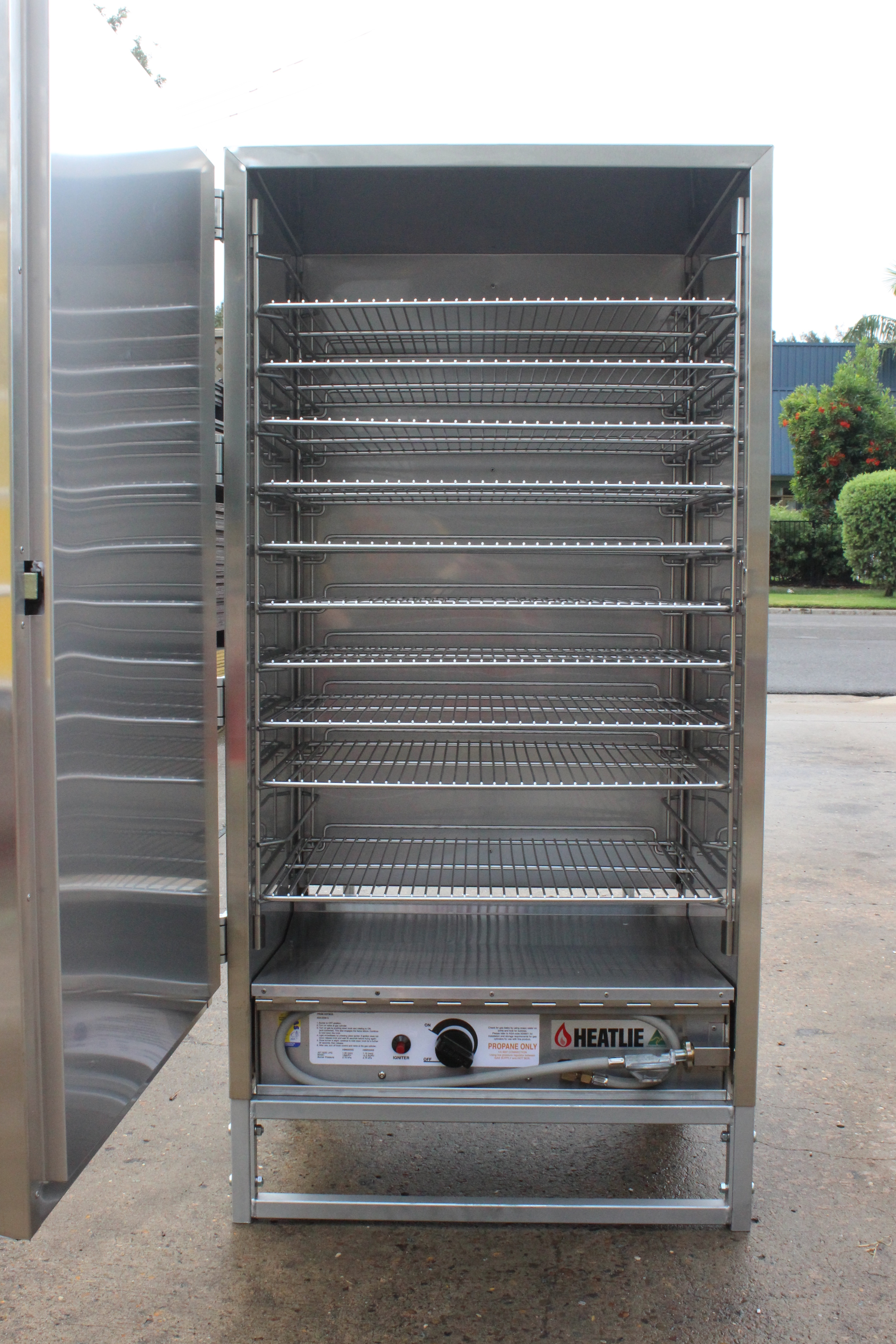 Heatlie HotBox S/Steel Warmer, inc 10 racks