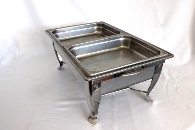 Chafing dish - twin tray