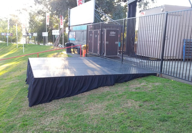 3.6m x 4.8m outdoor stage