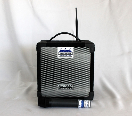 PA System, small - wireless
