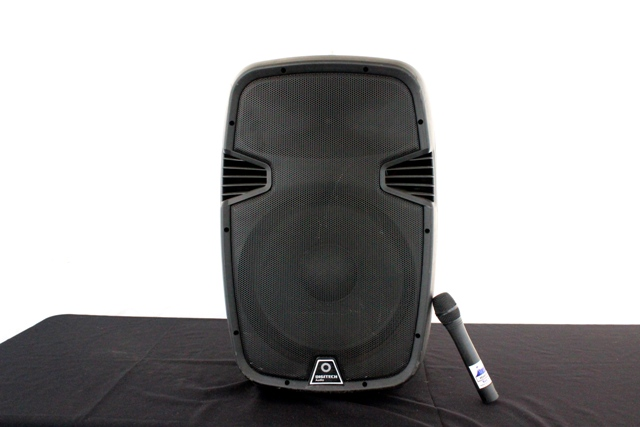 PA system, large