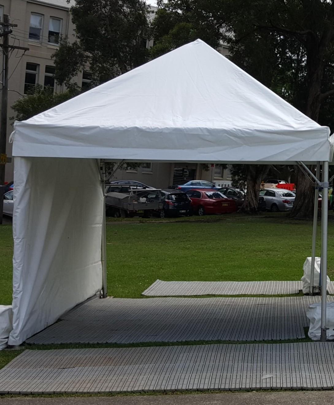 Market Marquee, white, 3 x 3m (pop-up)