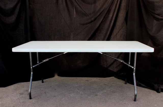 1.8m rectangular, H/Duty blow moulded top (seats 6 - 8)
