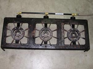 Triple gas rings - cooker