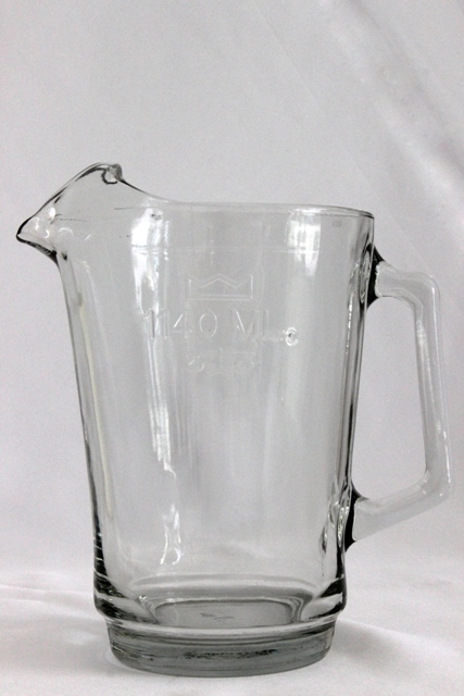 Beer/Juice jugs - glass - 1140ml