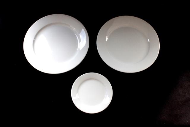Broad-Rim Tivoli Plates