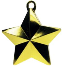 Gold star weight