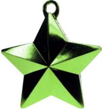 Light Green star weight