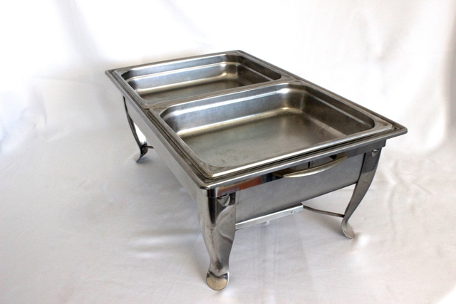 Chafing dish - twin tray