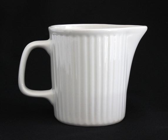 Fluted Milk jug - 600ml