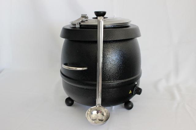 Soup kettle- 9L, includes ladel