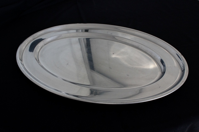 stainless steel platter