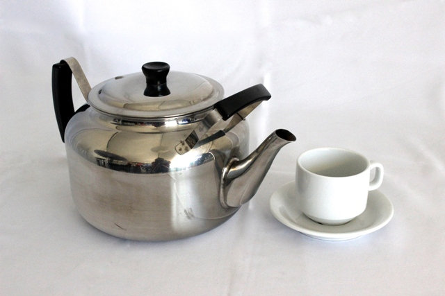 Teapot - stainless steel, 4.6L