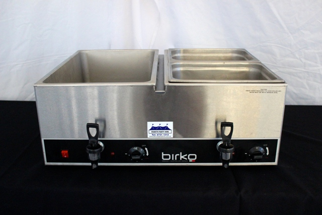 4 Tray bain-marie - for meats / rices etc