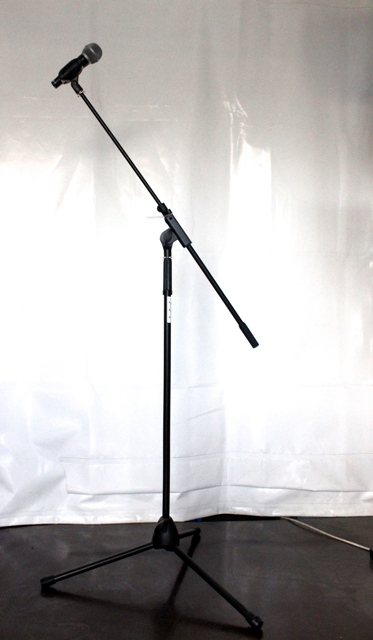 Microphone Stand with boom - telescopic
