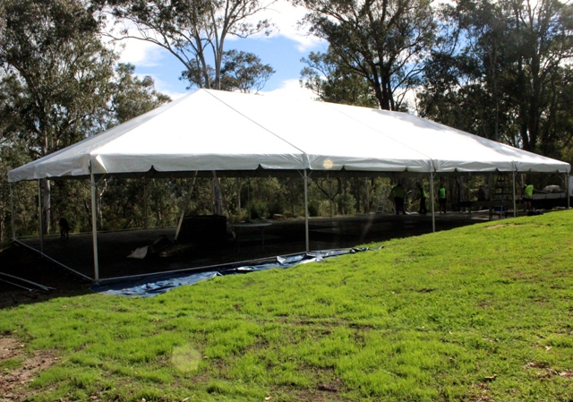 10x20m free standing marquee