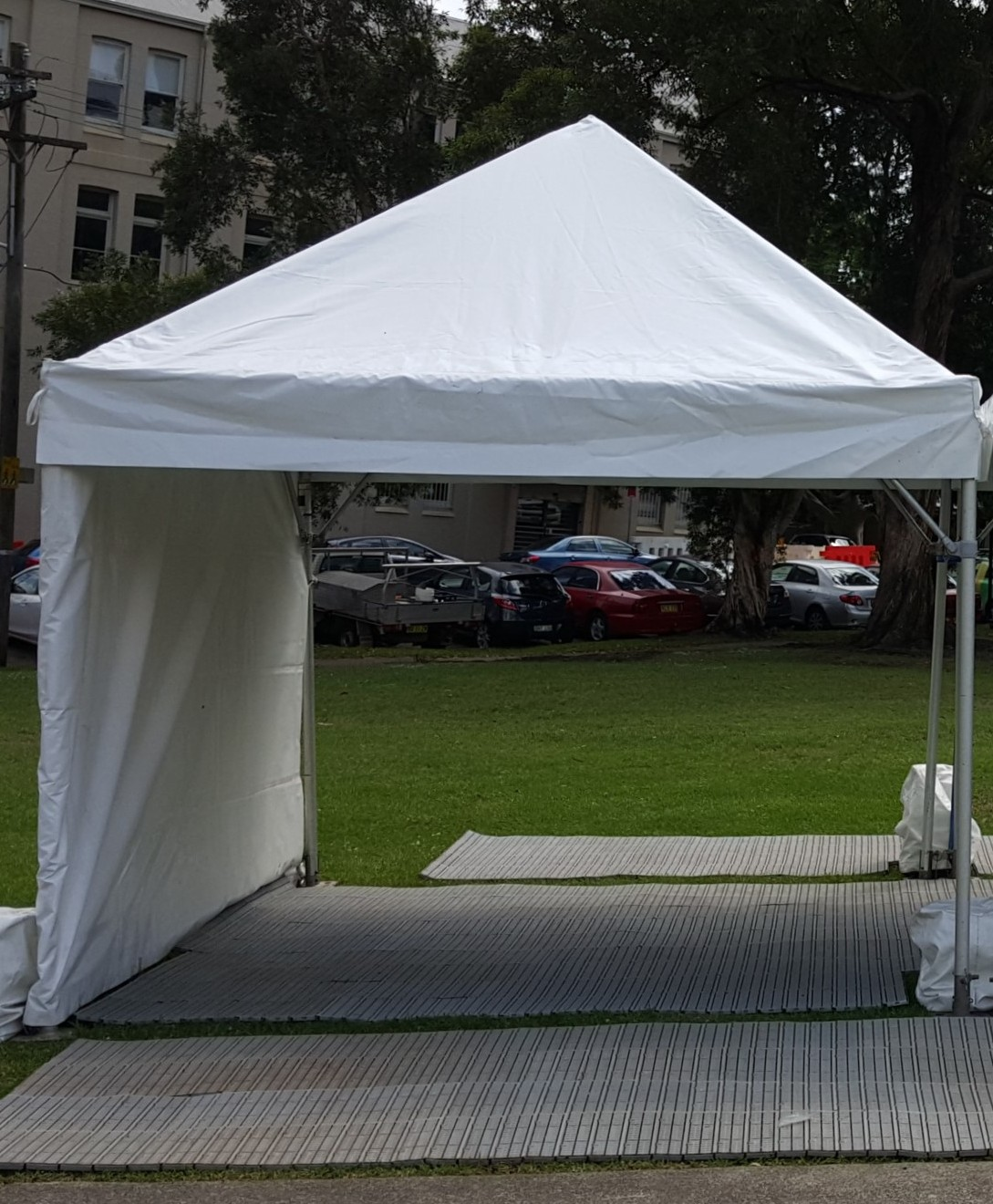 Market Marquee, white, 3 x 3m (pop-up)