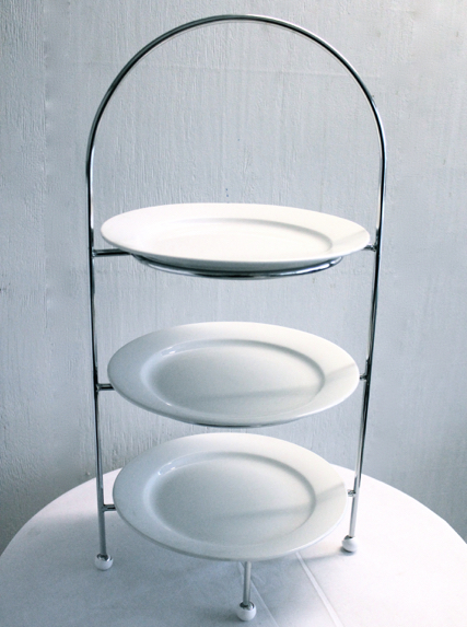 Display stand – 3 tier, incl 3 x 280mm plates